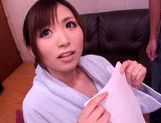 Saki Ayano kinkiest threesom action picture 3