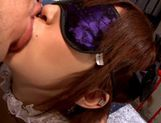 Kanon Imai solo masturbation while folded picture 5