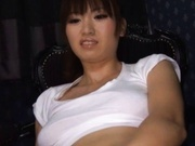 Saki Ayano pussy insertion and hot blowjob!