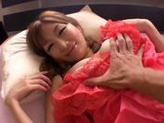 Maya Kouzuki hot milf pov and hot doggystyle action