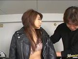 Hot Japanese milf massive creampie!