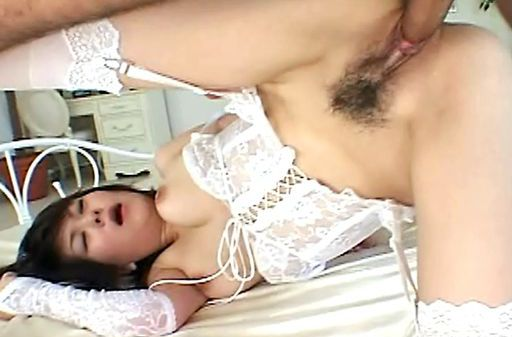 Hot milf fucked in wedding dress