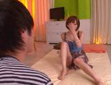 Smoking hot Japanese AV model is fucked in all positions