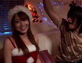 Akiho Yoshizawa has a hot threesome for xmas! picture 6