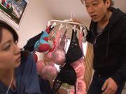 Sexy Saki Yano In Socks Gets A Hard Pussy Pounding