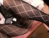 Talented Japanese milf fucks hr lover with strap-on picture 12