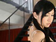 Nana Ogura Asian babe fondles her wet pussy