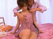 Minami Kojima deep penetration and hot cumshot!