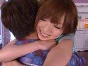 Superb Japanese AV model fucks with horny guy