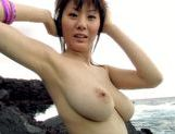 Yuma Asami show her big boobs outdoorsasian babe, japanese porn}