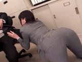 Office Babe Takes A Doggy Style Fucking In Her Work Clothes picture 2