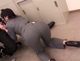 Office Babe Takes A Doggy Style Fucking In Her Work Clothes picture 5