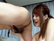 Nasty Japanese teen gives a raunchy rimjobasian ass, asian chicks}