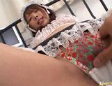 Delicious Japanese vixen Ai Uemura gets her anal inserted with a finger picture 15