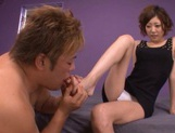 Tight Teen Makato Yuuki Makes Him Shoot A Hard Load In Her Face