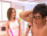 Misuzu Tachibana Japanese doll gets bukkake