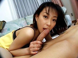 Yuka Takahashi Hot Japanese chick gives head