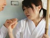 Teen Chika Sena Gets Fucked In The Locker Room In Her Kimono picture 12