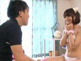 Hand work with Mayu Kamiya in mini bikini picture 13