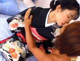 Seire Mochizuki's Kimono Comes Off Quick For Sex picture 1