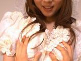 Yuu Asakura Japanese doll is a lustful bride picture 4