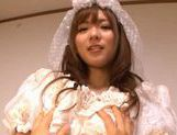 Yuu Asakura Japanese doll is a lustful bride picture 5