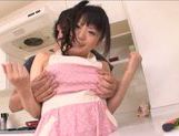 Naughty Asian wife Ai Hoshimiya loves it hardcore picture 10