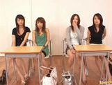 Japanese babes in crazy sex game picture 11