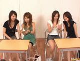 Japanese babes in crazy sex game picture 15