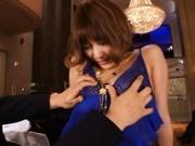 Sexy milf Kirara Asuka gets her pussy fucked hard!