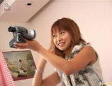Sayaka Hagiwara hot toy insertion