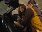 Nao Yoshizaki fucks hard on a fast car!