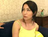 Busty Ayano Umemiya Fucked On The Couch By An Interviewer picture 10
