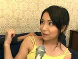 Busty Ayano Umemiya Fucked On The Couch By An Interviewer picture 13