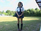 Hitomi Kitagawa as schoolgirl pool sex picture 11