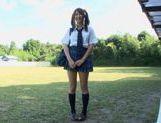 Hitomi Kitagawa as schoolgirl pool sex picture 12