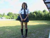 Hitomi Kitagawa as schoolgirl pool sex picture 13