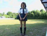 Hitomi Kitagawa as schoolgirl pool sex picture 14