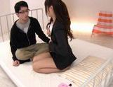 Horny Yuu Asakura Fucks And Swallows Fully Clothed picture 12