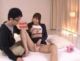 Horny Yuu Asakura Fucks And Swallows Fully Clothed picture 14
