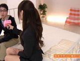 Horny Yuu Asakura Fucks And Swallows Fully Clothed picture 5