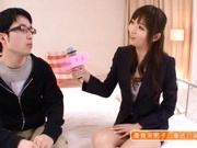 Horny Yuu Asakura Fucks And Swallows Fully Clothed