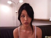 Yuki Inaba's Hairy Pussy Vibrated To A Loud Orgasm