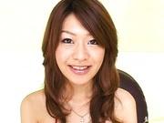 Horny babe Nagisa Sasaki has tons of sex toys