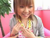 A Big Vibrator Makes Sakurano's Hairy Pussy Cum