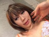 Yu Kawano Pulls Her Panties Aside To Squirt The Camera picture 11