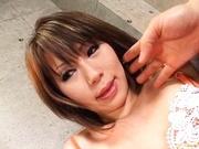 Yu Kawano Pulls Her Panties Aside To Squirt The Camera