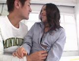MILF Shinobu Todaka Fucked In Her Tight Hairy Pussy picture 15