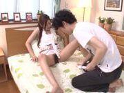 Teen Manatsu Yumeka Gets Caught Masturbating And Gets Dick