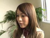 Dressed Up Teen Yuri Kousaka Vibrated And Sucks Dick picture 10